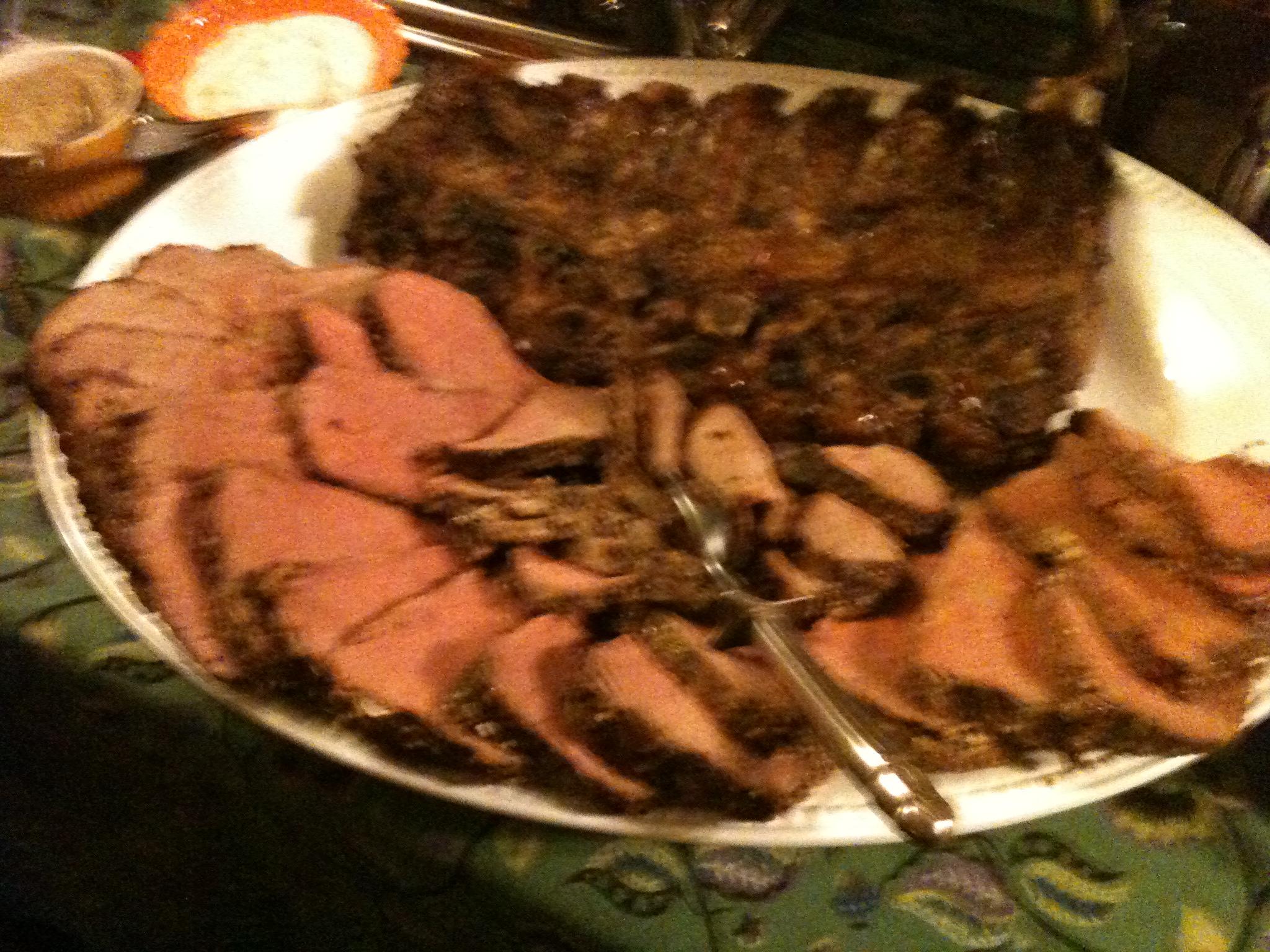 Roast Beef Beef Tenderloin Sirloin Ribeye Or New York
